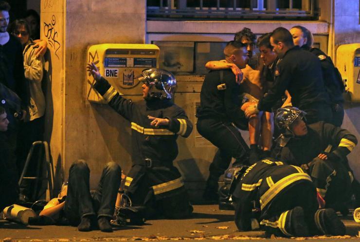 Paris on the 13th of November, via International Business Times