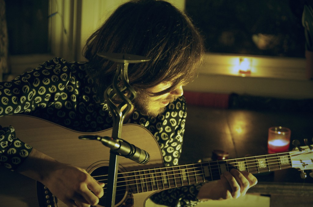 A still from the one shot live performance by Temple Gardens. Image by Brightunes.