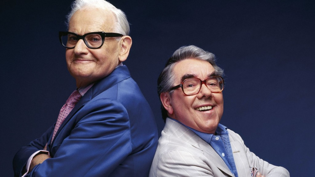 The Two Ronnies Spectacle (Ronnie Barker and Ronnie Corbett). Photo from here.