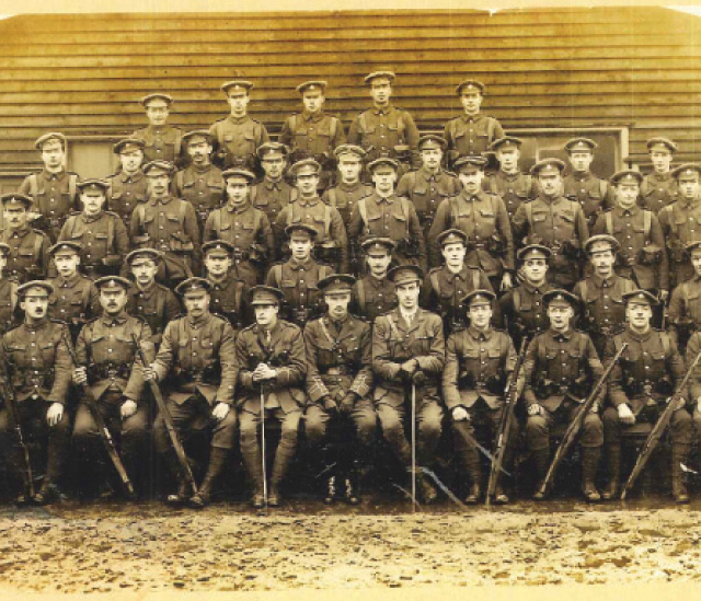 Members of the Royal Sussex Regiment gave their lives almost 100 years ago today - Photo: East Sussex WWI