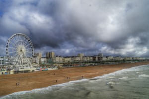Brighton Seafront where lots of events are happening this weekend