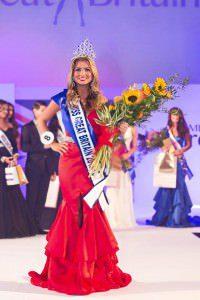 Miss GB 2015 winner, Zara Holland
