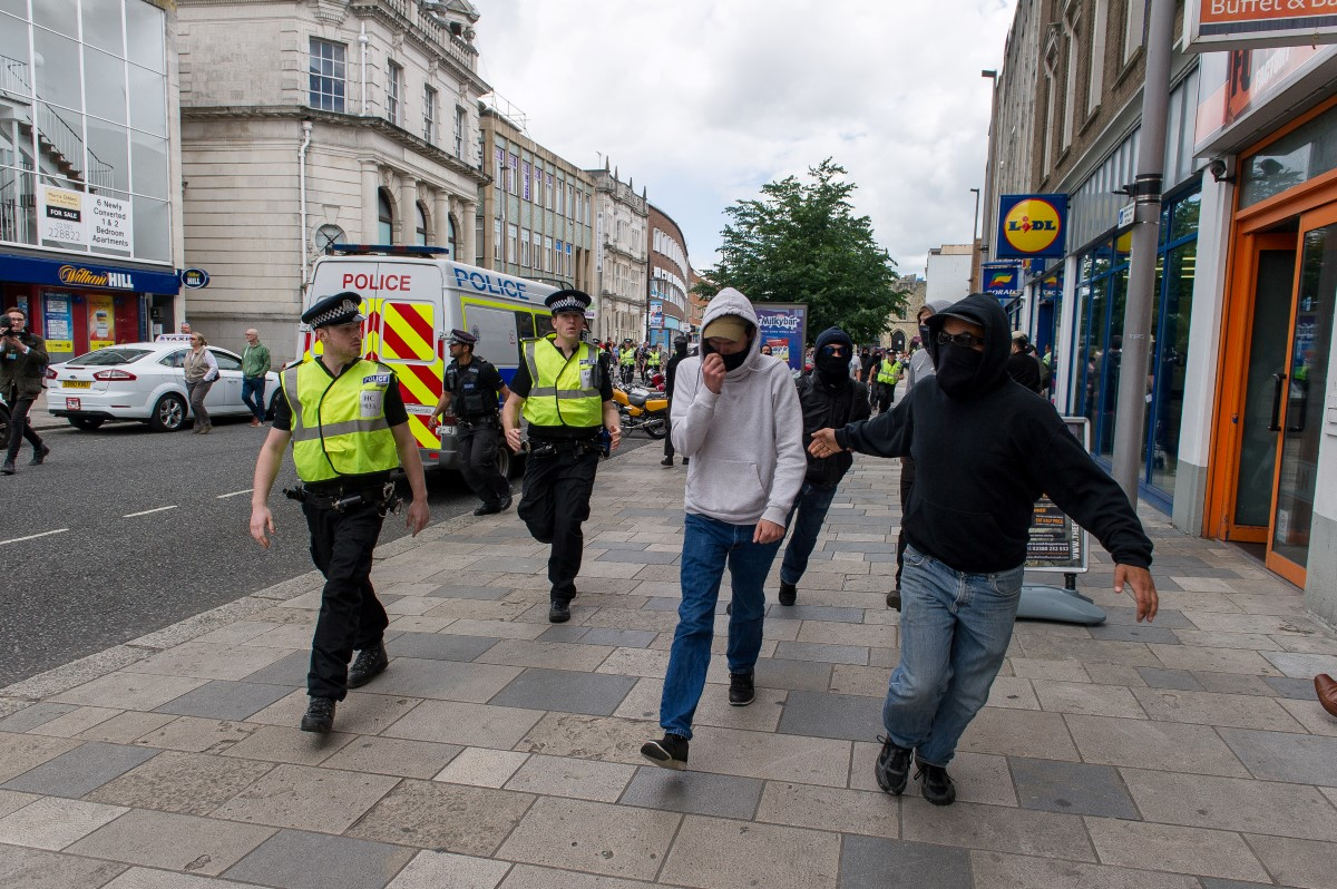 Southampton Anti-racist demo