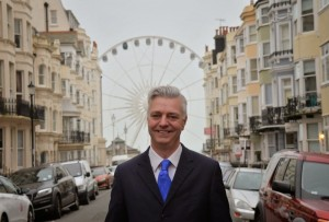 MP for Brighton Kemptown Simon Kirby is a strong Theresa May advocate - Photo: simonkirby.org