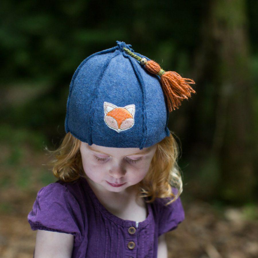 Kids organic cotton hat
