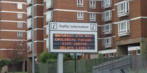 traffic delays Saturday