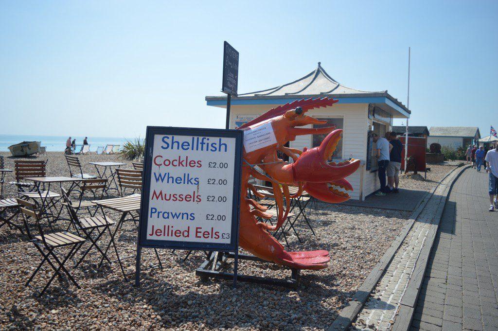 Nothing says seaside like seafood