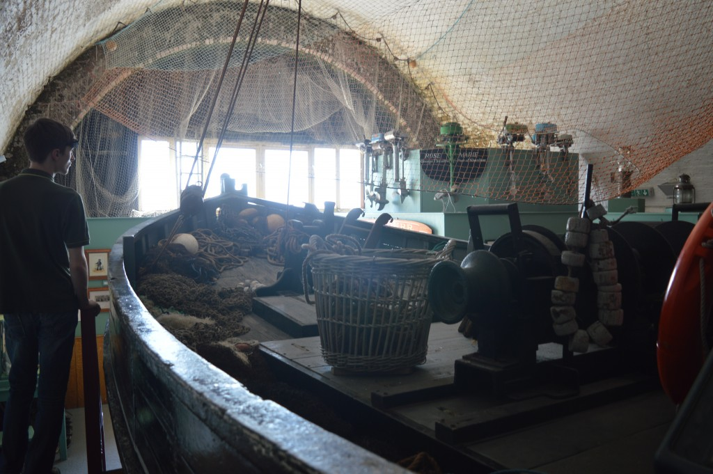Inside the fishing museum