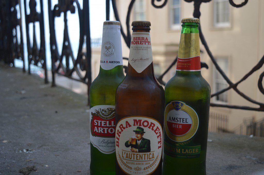 Beer photoshoot