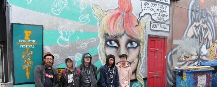 Brighton Festival Has Got Its Own Graffiti Mural!