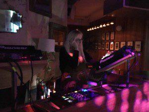 DJ Freya in the Booth