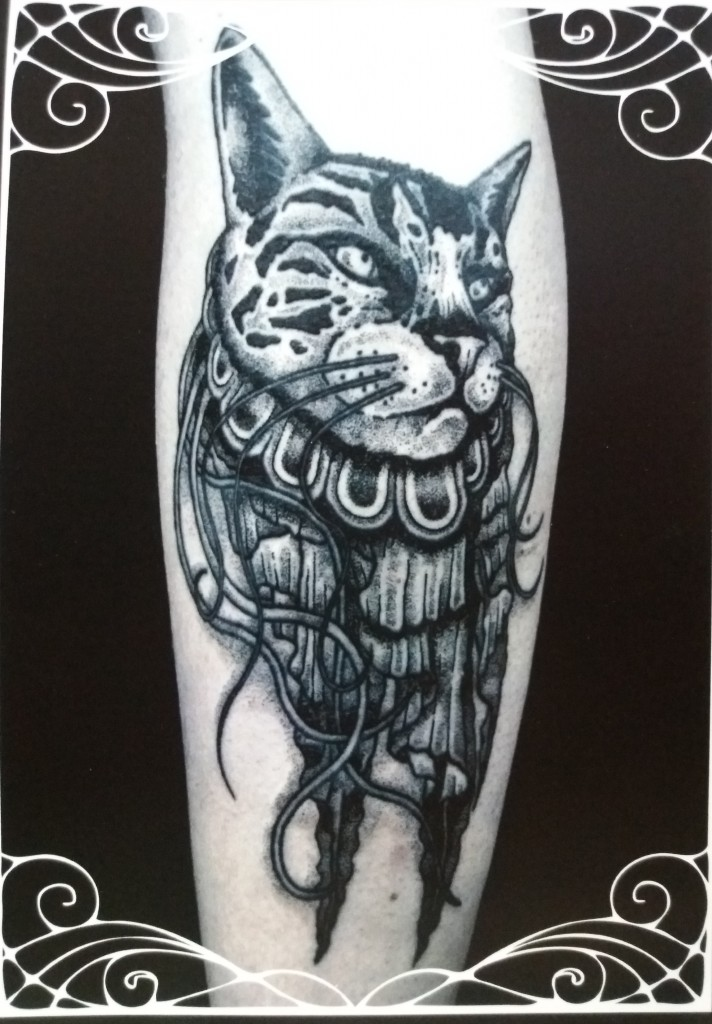 "The ""Jellycat"". Tattoo by Sarah Lu."