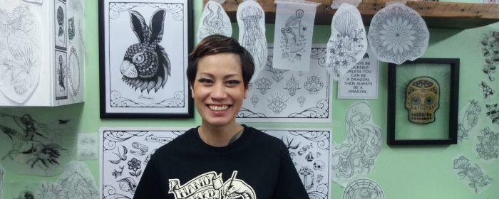 'I Eat, Live And Tattoo With Chopsticks!' Meet Hand-Poke Tattoo Artist Sarah Lu!