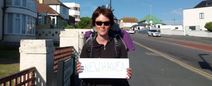 Humans Of Brighton – Meet Hitchhiker Amelie!