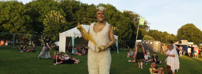 Unicorns, Mermaids And Glittery Fauns In Hove Park!