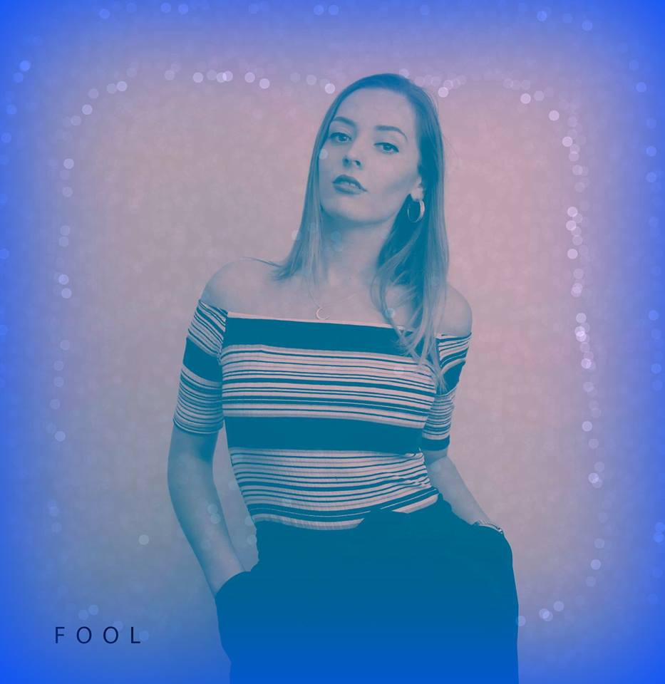"""The cover of her single """"Fool"""". Picture via Facebook."""