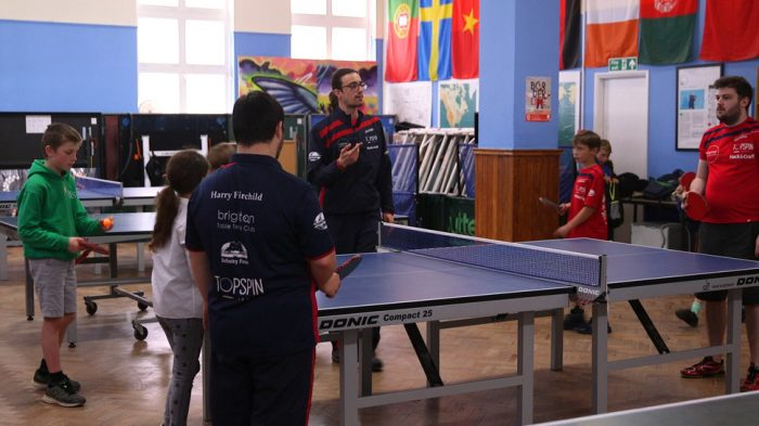 Brighton Table Tennis Club Praised For 'Groundbreaking' Work With Refugees