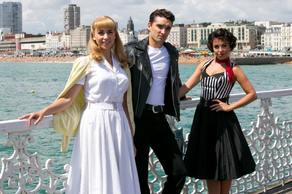 The cast recently visited Brighton. Credit @ Pete Jones.