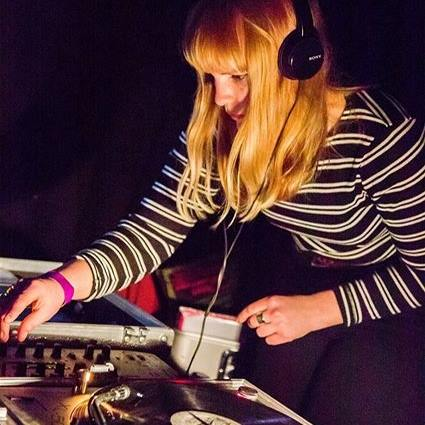 Being a female Dj is far from being a common thing. Photo via Facebook.