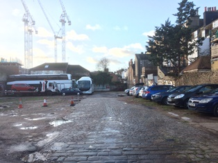 Brownfield sites like this one in central Brighton could, combined, provide up to 8000 homes - though a council report warns some would be difficult to develop