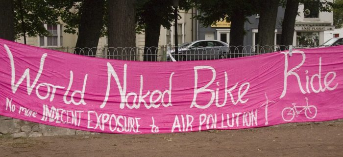 It's Time to Bare All! Brighton's Naked Bike Ride Returns Next Week