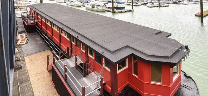 ONCA's New Art Space – On Board a Brighton Barge!