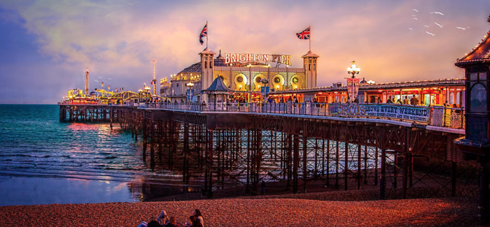 Brighton's Pier features on the new 50 pence coin!