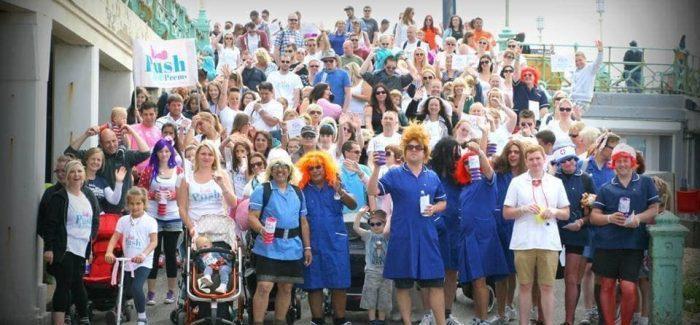 Sponsored walk Push for Prems 10th anniversairy