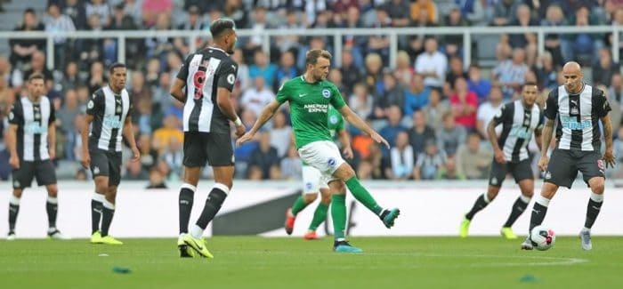 Brighton fail to score at Newcastle