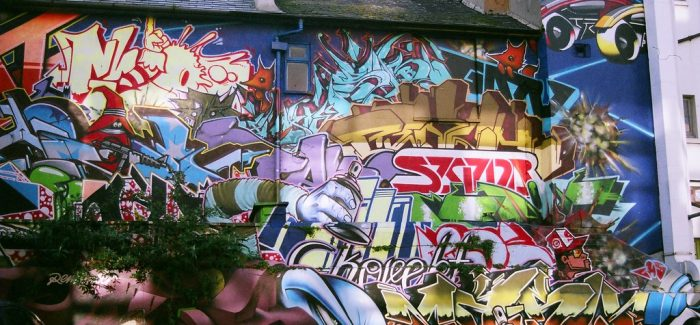 The council have launched a graffiti removal enforcement consultation
