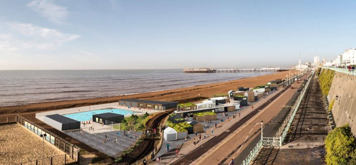 Plans Approved for Open Air Pool on Brighton Seafront in 2020