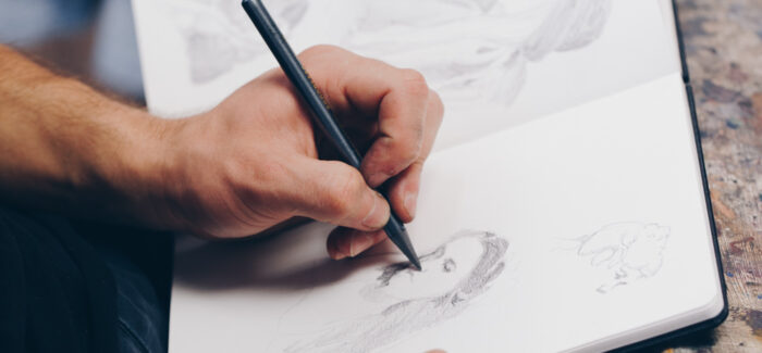 Draw Brighton are providing online drawing classes – in conversation with Jake Spicer